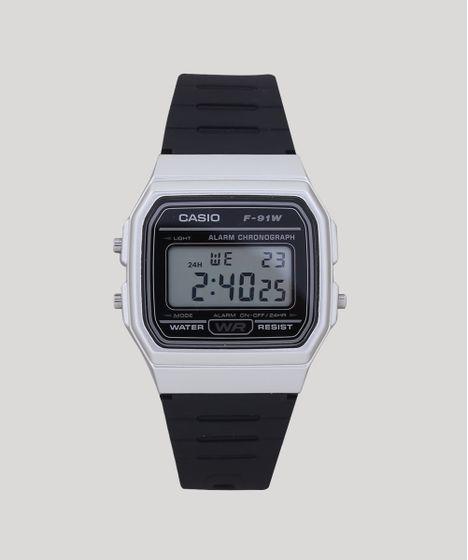 6e29d9815aa Relogio-Digital-Casio-Masculino---F91WM7ADF-Prateado-9400711- ...