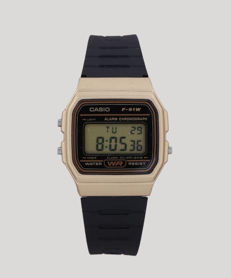 Relogio-Digital-Casio-Masculino---F91WM9ADF-Dourado-9400714- bb30a98ed1