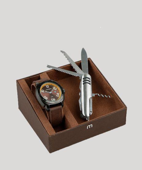 eef615ab943 Kit-de-Relogio-Analogico-Mondaine-Masculino---Canivete-