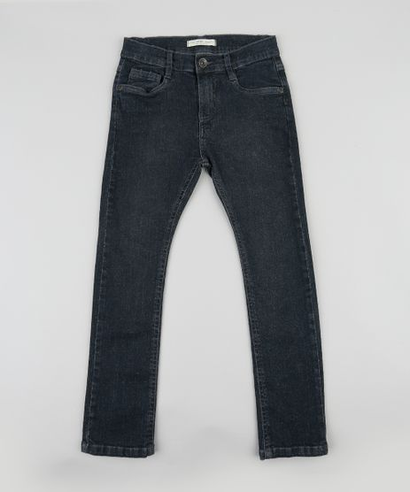 Calca-Jeans-Infantil-Slim-Preta-9410370-Preto_1