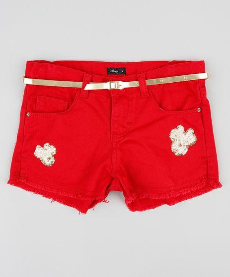 Short-Color-Infantil-Minnie-com-Paete-e-Cinto-Vermelho-9359235-Vermelho_1