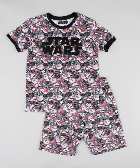 Pijama-Infantil-Estampado-Star-Wars-Manga-Curta-Preto-9341832-Preto_1