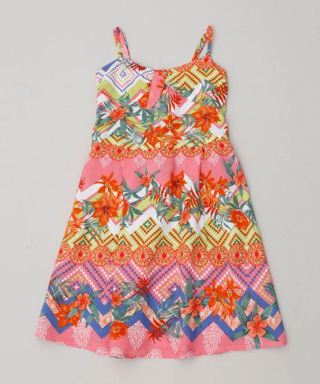 Vestido-Infantil-Estampado-com-No-Alcas-Finas-Rosa-9388938-Rosa_1