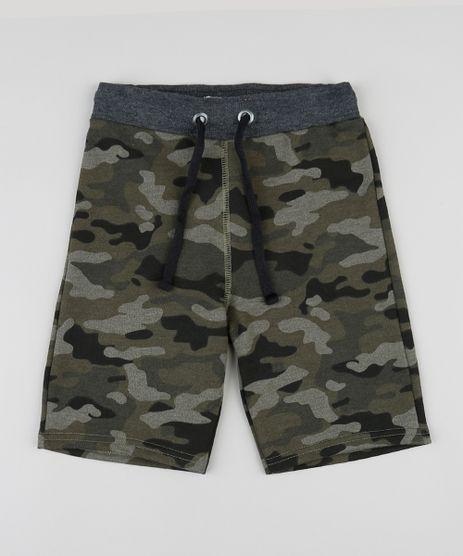Bermuda-Infantil-em-Moletom-Estampada-Camuflada-Verde-Militar-9422990-Verde_Militar_1
