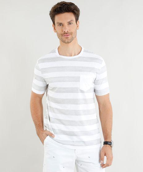 Camiseta-Masculina-Listrada-com-Bolso-Manga-Curta-Gola-Careca-Cinza-9278168-Cinza_1