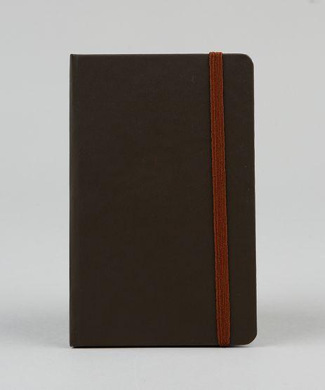 Caderno-Masculino-com-Pauta-14-x-9-cm-Marrom-9438658-Marrom_1