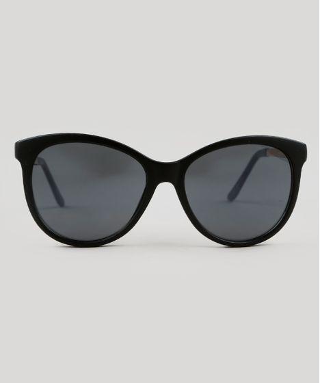0d18a3952 Oculos-de-Sol-Redondo-Feminino-Oneself-Preto-9464720- ...