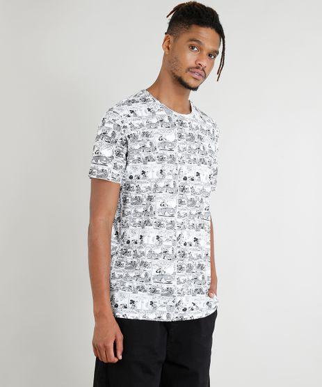 Camiseta-Masculina-Mickey-Mouse-Estampada-de-Quadrinhos-Manga-Curta-Branca-9379562-Branco_1