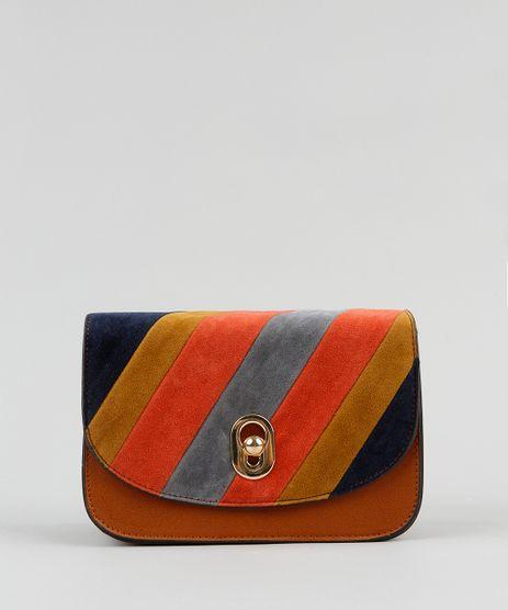 Bolsa-Transversal-Feminina-com-Recortes-Caramelo-9326534-Caramelo_1