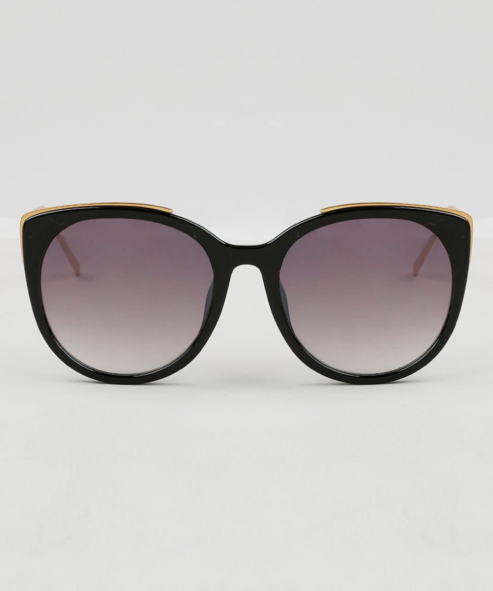 C A BR   Oneself. Óculos de Sol Gatinho Feminino Oneself Preto ... 4d720ed02f