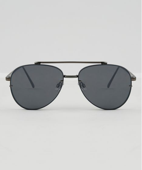 Óculos de Sol Aviador Feminino Oneself Grafite - cea 2d3fbedd1a