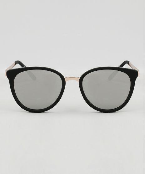 Oculos-de-Sol-Redondo-Feminino-Oneself-Preto-9465142- 7d8a7b93df