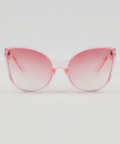 d3650248f90fa Oculos-de-Sol-Gatinho-Feminino-Oneself-Rosa-9474123-