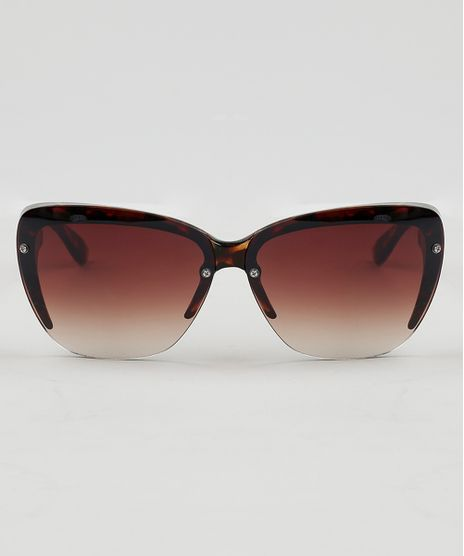 Oculos-de-Sol-Quadrado-Feminino-Oneself-Tartaruga-9474120-Tartaruga_1