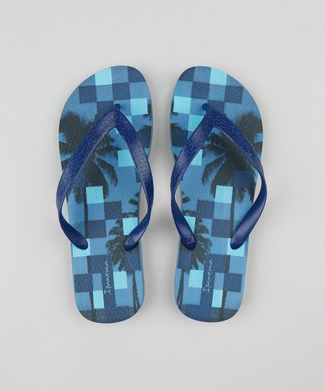 Chinelo-Masculino-Ipanema-Quadriculado-Azul-9448064-Azul_1