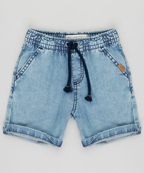 Bermuda-Jeans-infantil-com-Cordao-Azul-Claro-9396325-Azul_Claro_1
