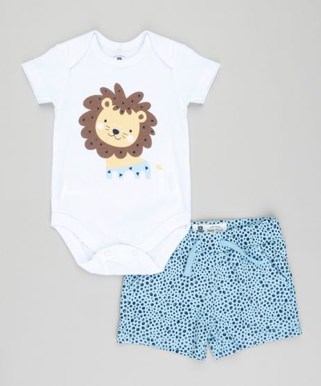Conjunto-Infantil-de-Body-Leao-Manga-Curta-Branco---Short-Estampado-Azul-Claro-9201697-Azul_Claro_1
