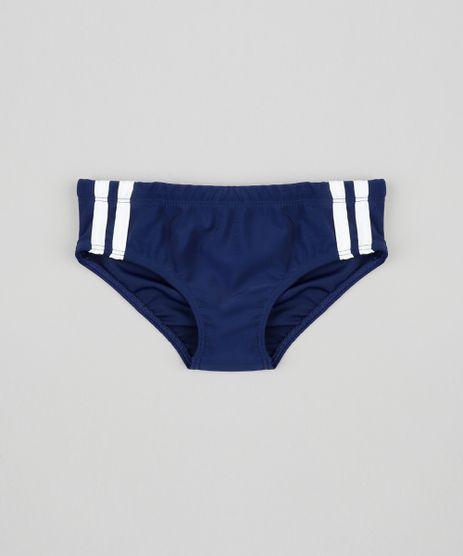 Sunga-Infantil-Listras-Laterais-com-Protecao-UV50--Azul-Marinho-9386669-Azul_Marinho_1