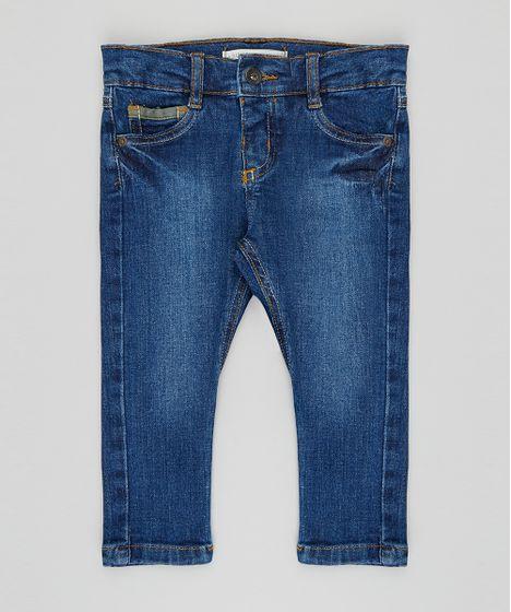 1f7dbd761a5 Calca-Jeans-Infantil-Skinny-Azul-Escuro-9396323-Azul Escuro 1 ...