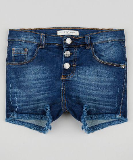 Short-Jeans-Infantil-com-Botoes-e-Barra-Desfiada-Azul-Escuro-9329224-Azul_Escuro_1