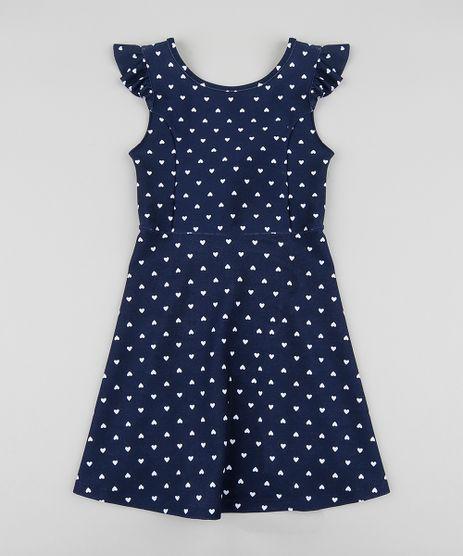 Vestido-Infantil-Estampado-de-Coracao-com-Babado-e-No-Sem-Manga-Azul-Marinho-9426142-Azul_Marinho_1