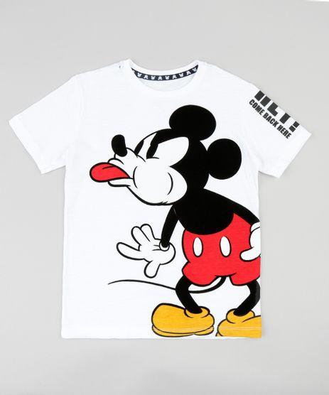 Camiseta-Infantil-Mickey-Mouse-Manga-Curta-Gola-Careca-Off-White-9428471-Off_White_1