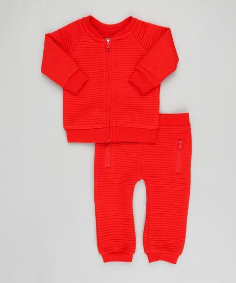 Conjunto-Infantil-de-Blusao-em-Moletom-Canelado---Calca-Vermelho-9200193-Vermelho_1