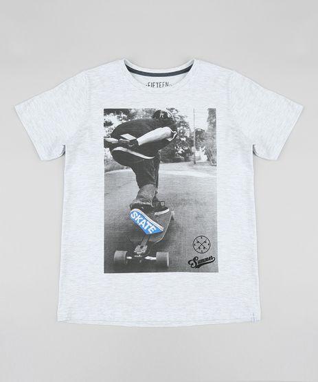 Camiseta-Infantil--Skate--Manga-Curta-Gola-Careca-Cinza-Mescla-Claro-9411985-Cinza_Mescla_Claro_1