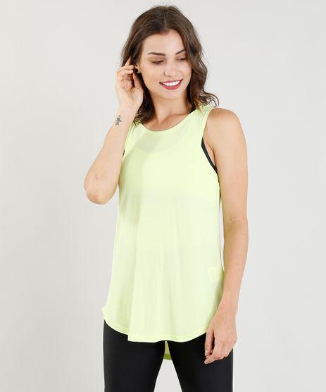 Regata-Feminina-Esportiva-Ace-com-Recorte-Verde-Neon-9358761-Verde_Neon_1