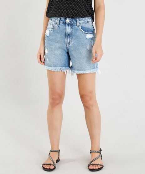 Bermuda-Jeans-Feminina-Girlfriend-Destroyed-Azul-Claro-9346369-Azul_Claro_1