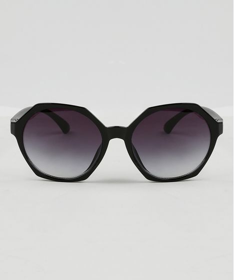 ce68e6502 Oculos-de-Sol-Geometrico-Feminino-Oneself-Preto-9465155- ...