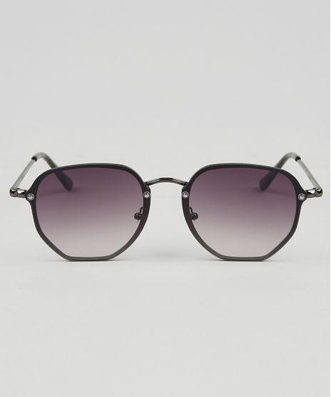 Oculos-de-Sol-Redondo-Feminino-Oneself-Grafite-9465126-Grafite_1