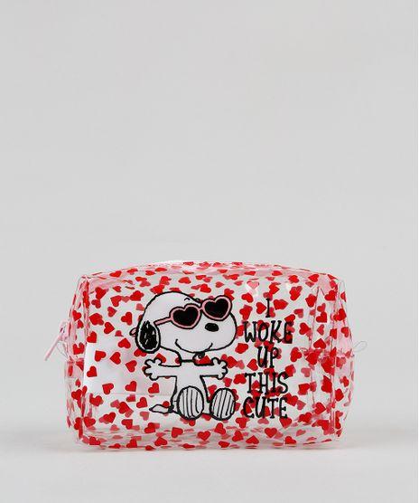 Necessaire-Feminina-Snoopy-Estampada-Vermelha-9422765-Vermelho_1