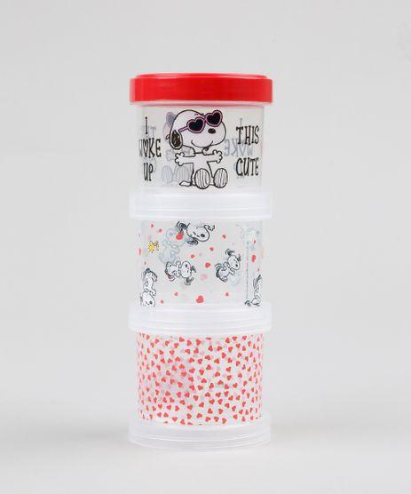 Kit-de-3-Potes-Encaixaveis-Snoopy-Vermelho-9439548-Vermelho_1