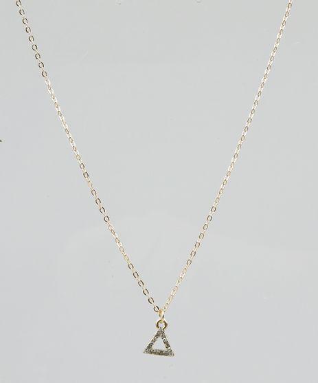 Colar-Feminino-com-Pingente-de-Triangulo--Dourado-9292880-Dourado_1