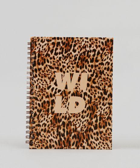 Caderno-Espiral-Capa-Dura-Estampado-Animal-Print-285-cm-x-21-cm-Caramelo-9440012-Caramelo_1