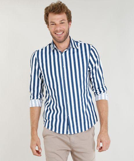 Camisa-Masculina-Comfort-Listrada-Manga-Longa-Branca-9253939-Branco_1
