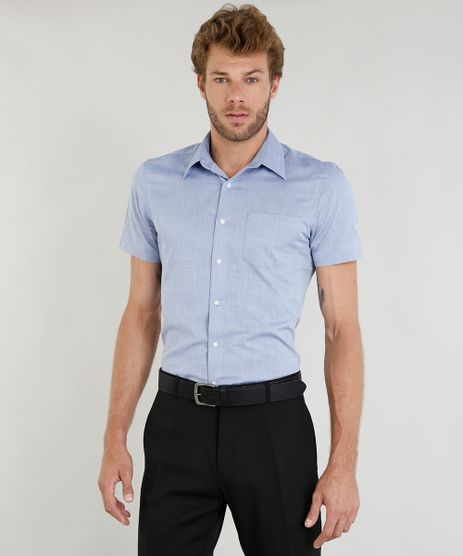 Camisa-Masculina-Comfort-com-Bolso-Manga-Curta-Azul-Claro-9249079-Azul_Claro_1