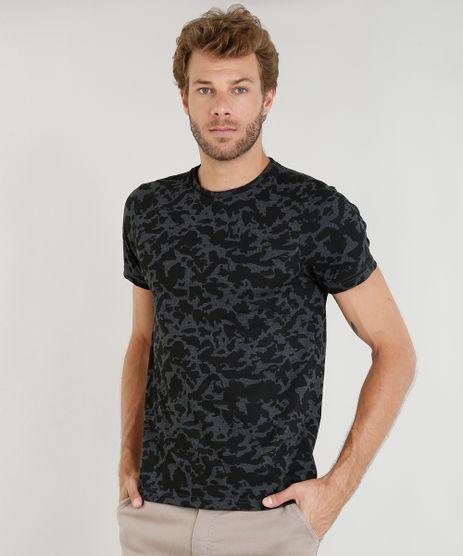 Camiseta-Masculina-Slim-Fit-Estampada-Manga-Curta-Gola-Careca-Cinza-Mescla-Escuro-9410894-Cinza_Mescla_Escuro_1