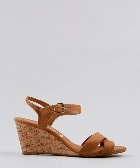 Sandalia-Plataforma-Feminina-Vizzano-em-Suede-com-Cortica-Caramelo-9412360-Caramelo_1