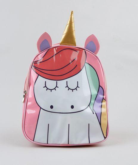 Mochila-Infantil-Unicornio-com-Orelha-e-Chifre-Rosa-9287035-Rosa_1