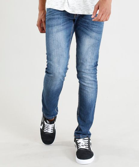 Calca-Jeans-Masculina-Skinny--Azul-Medio-9382198-Azul_Medio_1