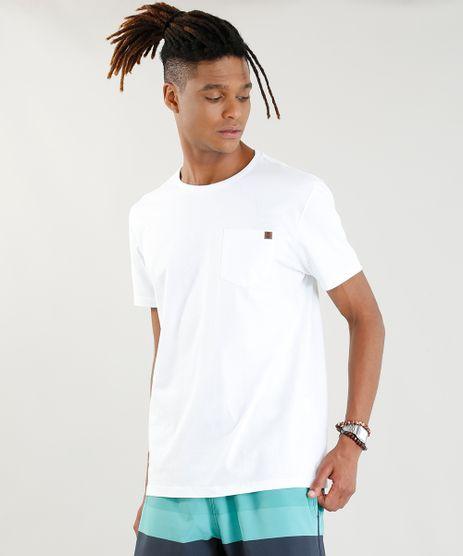 Camiseta-Masculina-com-Bolso-Manga-Curta-Gola-Careca-Branca-9402648-Branco_1