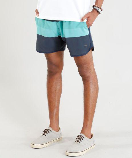 Short-Masculino-Listrado-com-Bolsos-Chumbo-9394447-Chumbo_1