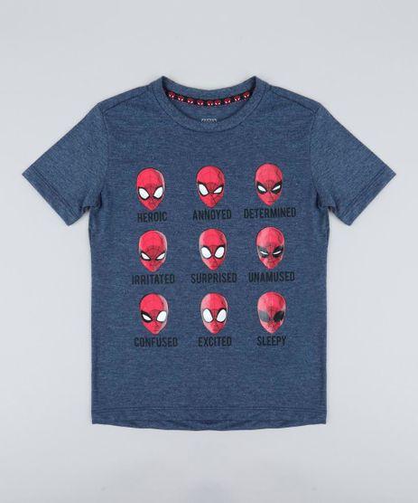 Camiseta-Infantil-Homem-Aranha-Manga-Curta-Gola-Careca-Azul-Marinho-9410323-Azul_Marinho_1