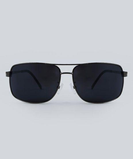 593552f80e962 Oculos-de-Sol-Quadrado-Masculino-Oneself-Grafite-9479706-