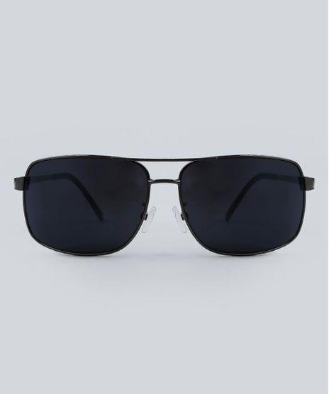 Oculos-de-Sol-Quadrado-Masculino-Oneself-Grafite-9479706-Grafite_1