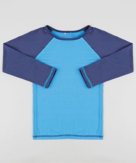Camiseta-de-Praia-Infantil-Raglan-Manga-Longa-Gola-Careca-Azul-Claro-9386668-Azul_Claro_1