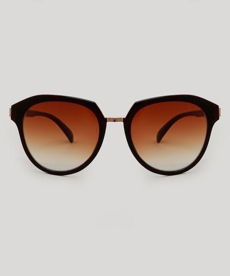 Oculos-de-Sol-Redondo-Feminino-Marrom-9479721-Marrom_1