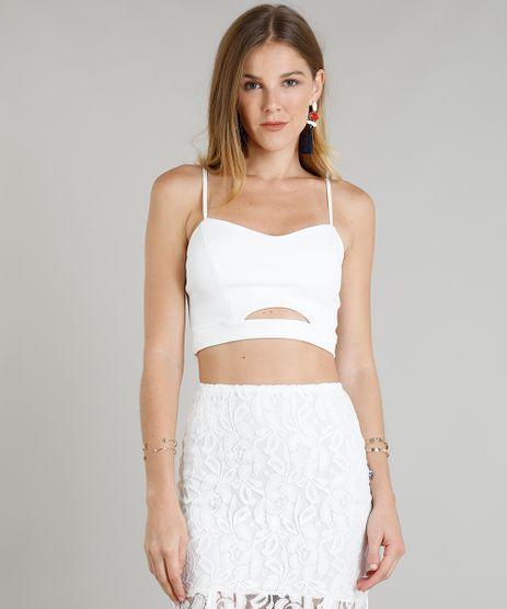 Top-Cropped-Feminino-com-Vazado-Alcas-Finas-Decote-V-Branco-9343196-Branco_1